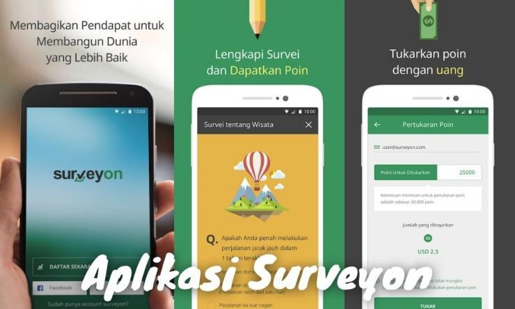 Aplikasi Surveyon Penghasil Uang