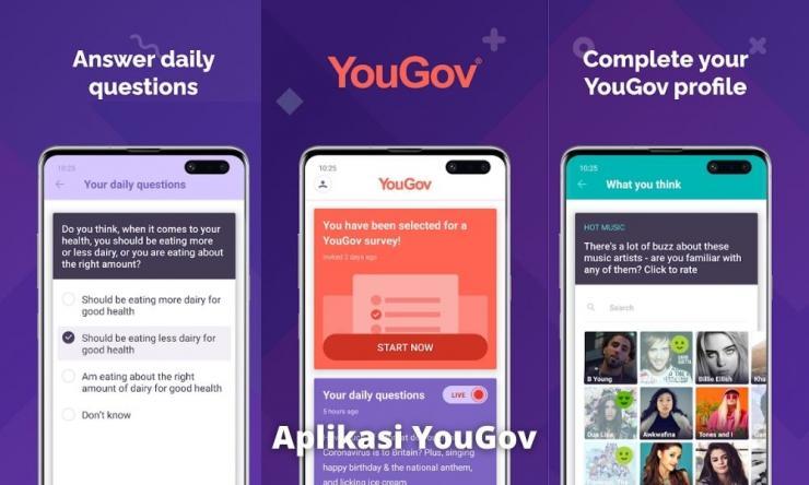 Aplikasi Yougov Penghasil Uang Dengan Survey