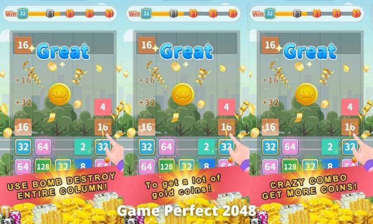 Game Perfect 2048 Penghasil Uang Dengan Bermain Game