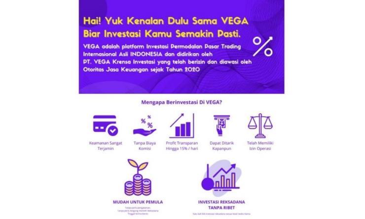 Vega Invest Apk Penghasil Uang Dengan Investasi