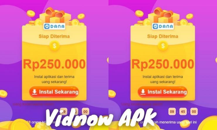 Vidnow Apk Penghasil Uang Dengan Beragam Video