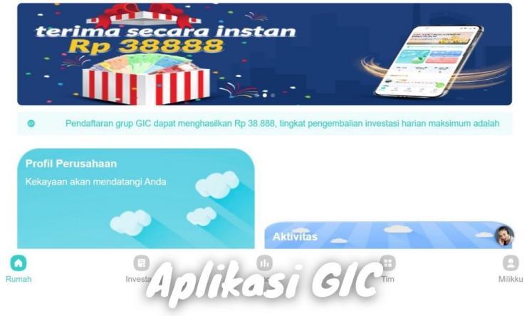 Aplikasi Gic Penghasil Uang Dengan Investasi