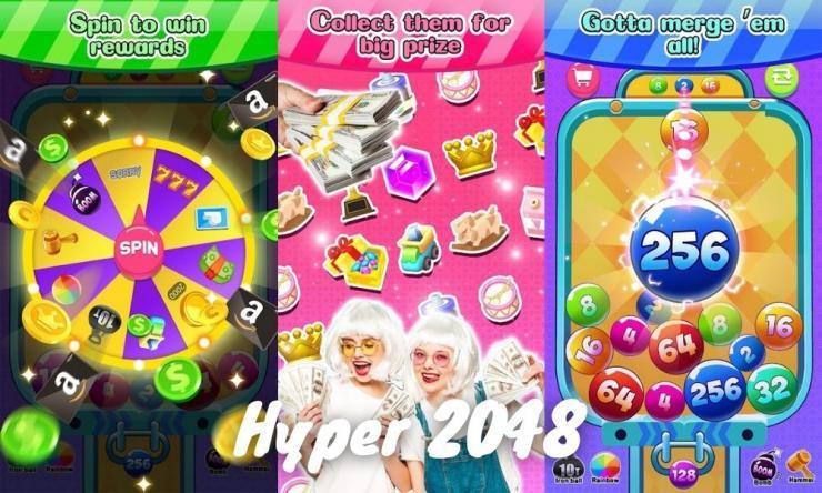 Aplikasi Hyper 2048 Apk Penghasil Uang Dengan Bermain Game