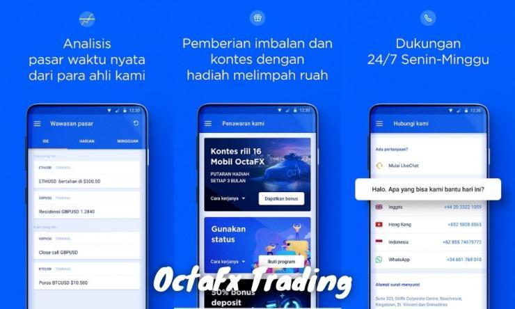 Aplikasi Octafx Trading Penjelasan Lengkap, Jenis Trading Dan Cara Daftarnya