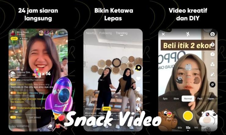 Aplikasi Snack Video Penghasil Uang Dengan Membuat Video