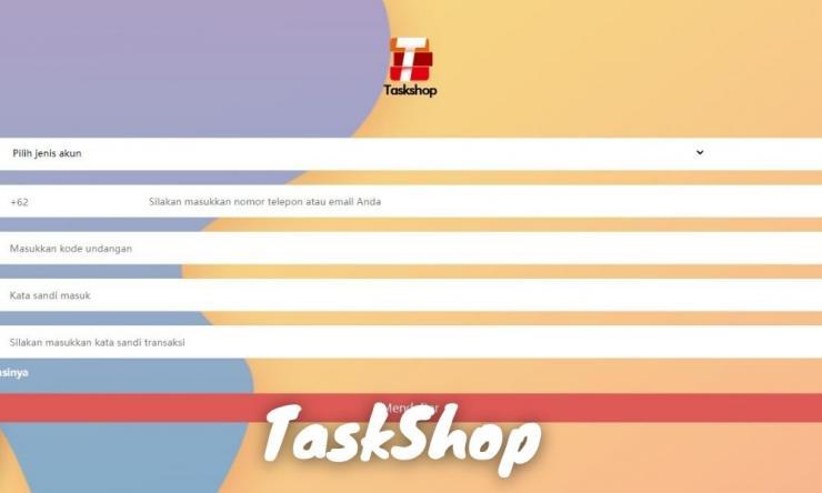 Aplikasi Taskshop Penghasil Uang Dengan Mengundang Teman