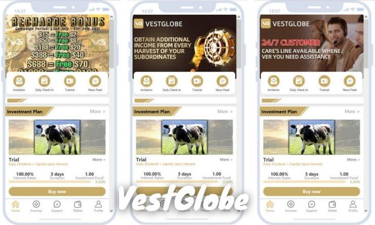 Aplikasi Vestglobe Apk Penghasil Uang Dengan Investasi