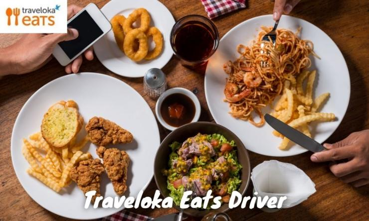 Cara Mendaftar Menjadi Mitra Traveloka Eats Driver 2021