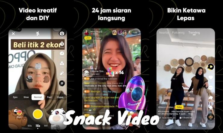 Cara Nuyul Snack Video Koin Melimpah Dan Kaya Mendadak