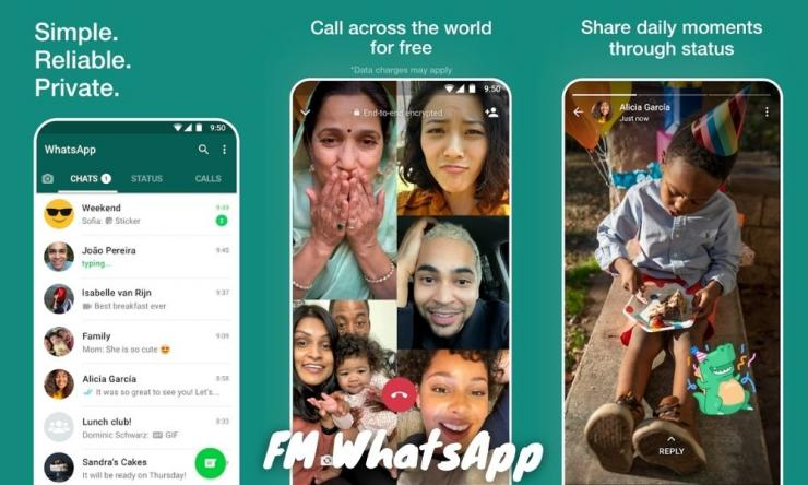 Fm Whatsapp Mod Apk Versi Terbaru 2021 Anti Banned