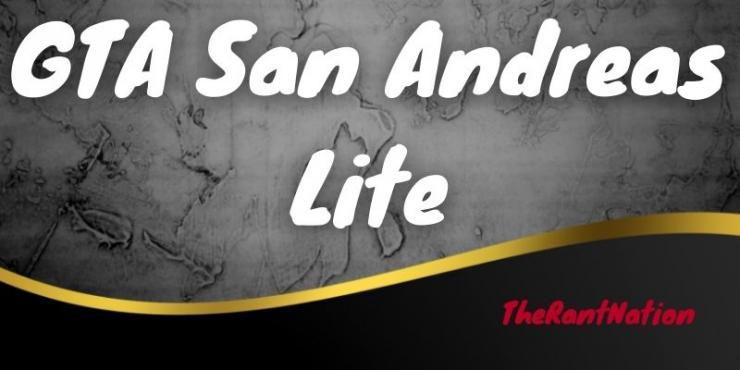 Gta San Andreas Lite Mod Apk Terbaru