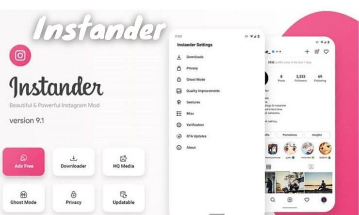 Instander Apk Modifikasi Instagram Dengan Fitur Lebih Lengkap