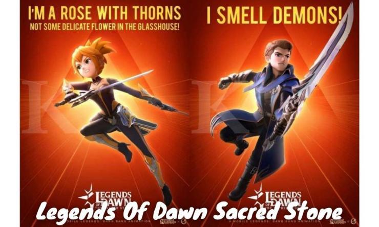 Legends Of Dawn Sacred Stone, Film Animasi Ml Terbaru