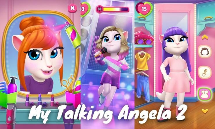 My Talking Angela 2 Mod Apk Dengan Unlimited Money
