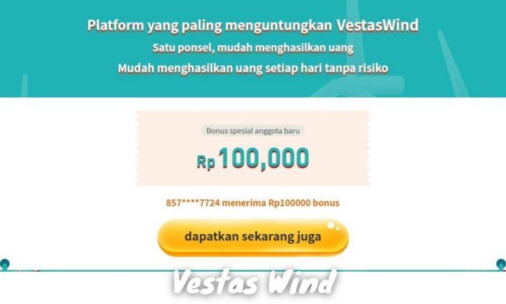 Vestas Wind Penghasil Uang Dengan Investasi