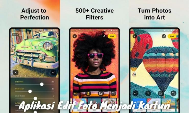 7 Aplikasi Edit Foto Menjadi Kartun Tanpa Wajah 3d Dll