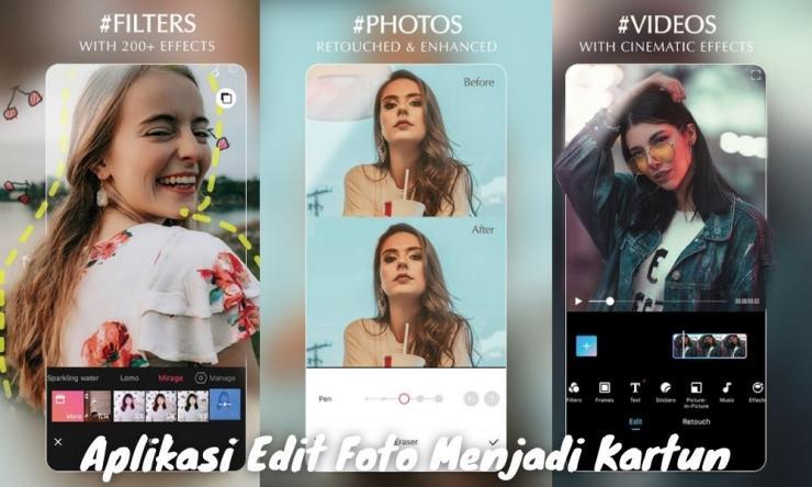 Aplikasi Edit Foto Menjadi Kartun Tanpa Wajah 3d