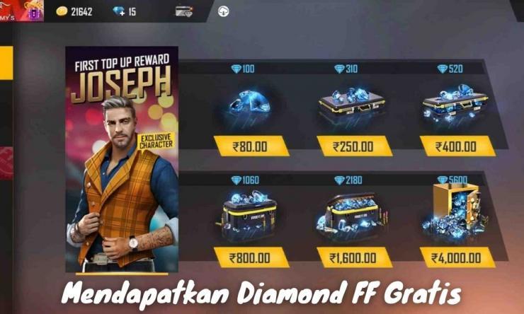 Cara Mendapatkan Diamond Ff Gratis Terbaik 2021