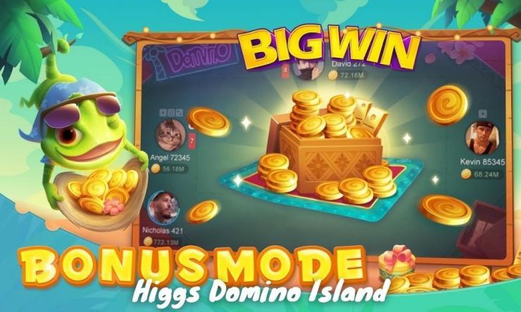 Higgs Domino Island Mod Dan Resmi