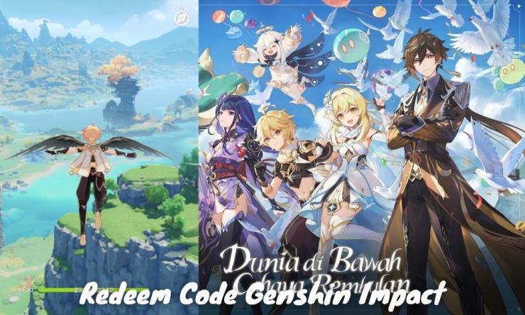 Redeem Code Genshin Impact Hari Ini Asia Terbaru 2021