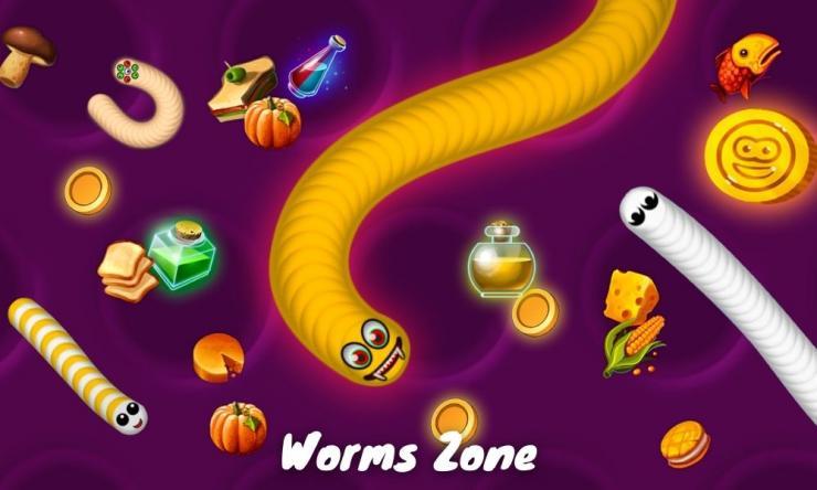 Worms Zone Mod Apk Versi Terbaru 2021 Unlimited Money