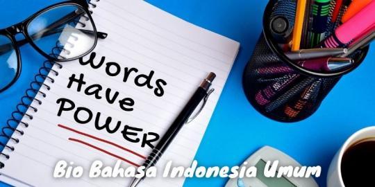 Bio Bahasa Indonesia Umum