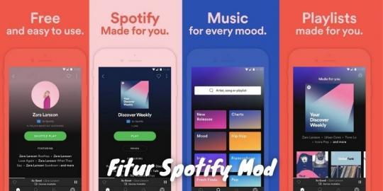 Fitur Spotify Mod Terbaru