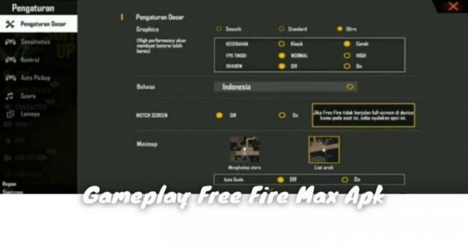 Gameplay Free Fire Max Apk