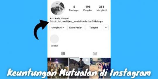 Keuntungan Mutualan Di Instagram